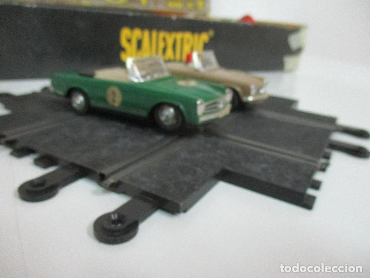 Scalextric: Circuito Scalextric GT 25 - con Mercedez 250 SL Sport - Todo Original - Año 1968 - Foto 11 - 103592015