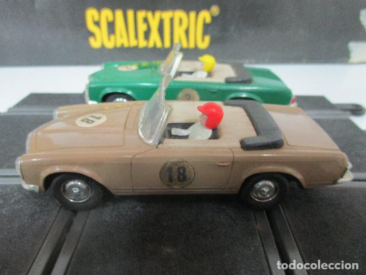 Scalextric: Circuito Scalextric GT 25 - con Mercedez 250 SL Sport - Todo Original - Año 1968 - Foto 16 - 103592015