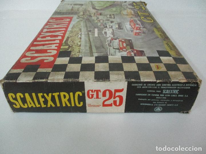 Scalextric: Circuito Scalextric GT 25 - con Mercedez 250 SL Sport - Todo Original - Año 1968 - Foto 20 - 103592015