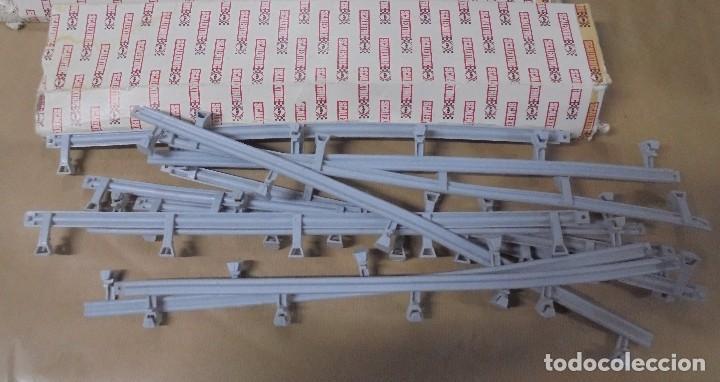 Scalextric: LOTE DE ACCESORIOS DE SCALEXTRIC. CON CAJAS. VIAS, TRANSFORMADOR, VARIOS. VER FOTOS - Foto 4 - 103918467