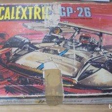 Scalextric: CAJA DE SCALEXTRIC GP-26 CON ALGUNAS PIEZAS. LAS DE LA FOTOS. VER. Lote 103919855