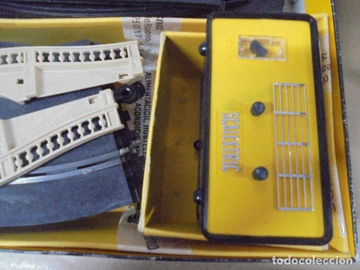 Scalextric: CAJA DE SCALEXTRIC GP-26 CON ALGUNAS PIEZAS. LAS DE LA FOTOS. VER - Foto 5 - 103919855