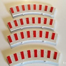 Scalextric: LOTE ARCEN 4 BORDES CURVA STANDARD SCALEXTRIC......SLOT. Lote 104348163