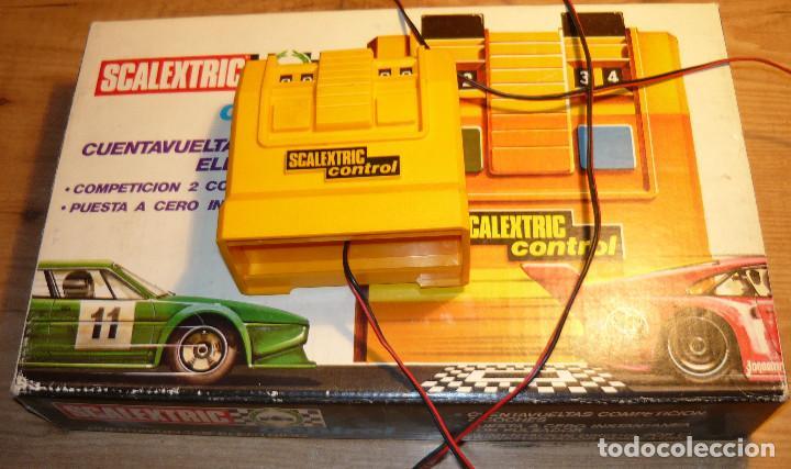 CUENTAVUELTAS ELECTRICO SCALEXTRIC (Juguetes - Slot Cars - Scalextric Pistas y Accesorios)
