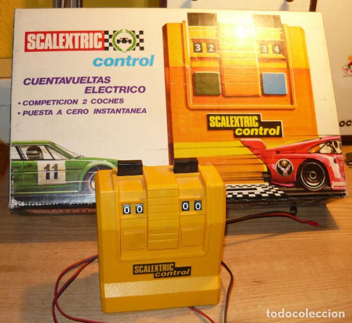 Scalextric: CUENTAVUELTAS ELECTRICO SCALEXTRIC - Foto 3 - 104727119