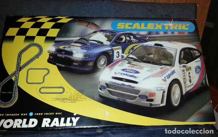 Scalextric: CIRCUITO DE SCALEXTRIC WORL RALLY C1048 - Foto 1 - 105861731