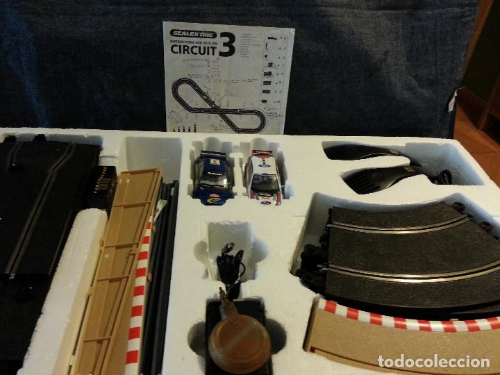 Scalextric: CIRCUITO DE SCALEXTRIC WORL RALLY C1048 - Foto 6 - 105861731