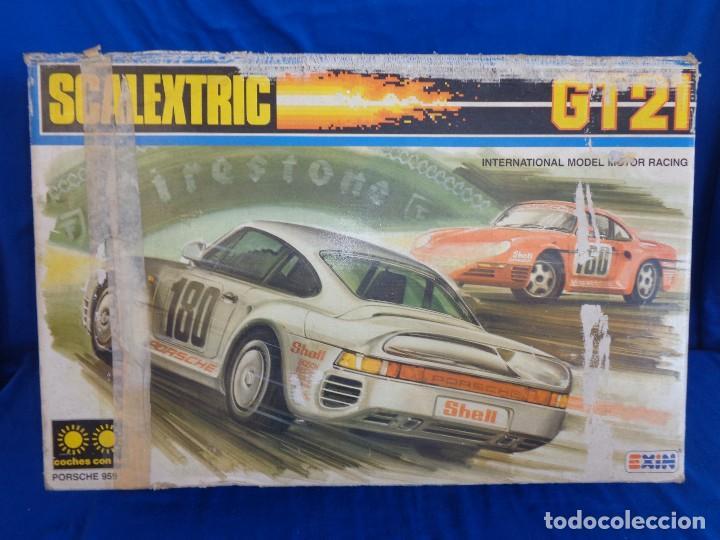 Scalextric: SCALEXTRIC EXIN GT 21- CAJA SIN LOS COCHES SCALEXTRIC EXIN REF. 3121 VER FOTOS! SM - Foto 16 - 106149479