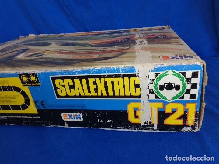 Scalextric: SCALEXTRIC EXIN GT 21- CAJA SIN LOS COCHES SCALEXTRIC EXIN REF. 3121 VER FOTOS! SM - Foto 22 - 106149479