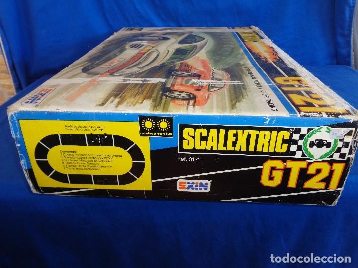 Scalextric: SCALEXTRIC EXIN GT 21- CAJA SIN LOS COCHES SCALEXTRIC EXIN REF. 3121 VER FOTOS! SM - Foto 24 - 106149479