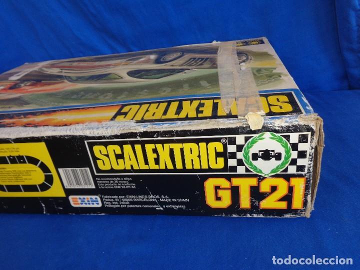 Scalextric: SCALEXTRIC EXIN GT 21- CAJA SIN LOS COCHES SCALEXTRIC EXIN REF. 3121 VER FOTOS! SM - Foto 28 - 106149479