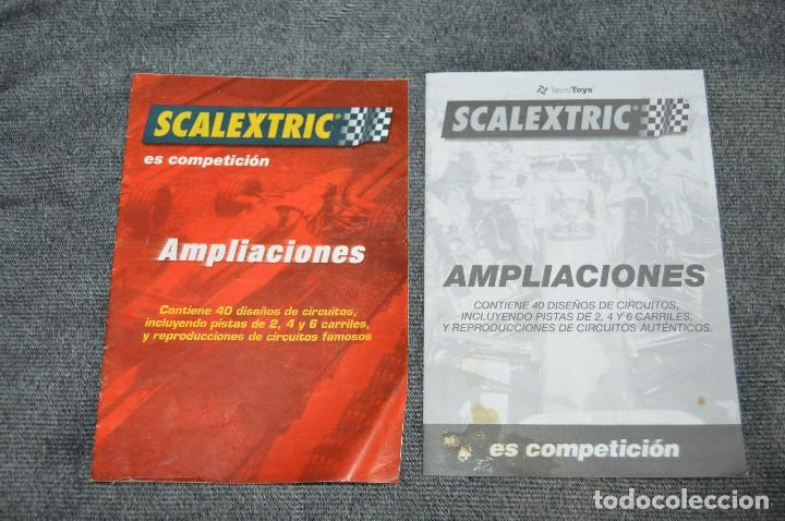 Scalextric: LOTE GIGANTE DE PAPELES / DOCUMENTACIÓN SCALEXTRIC - EXIN - TYCO - TECNITOYS - HAZ OFERTA - VINTAGE - Foto 4 - 107526983