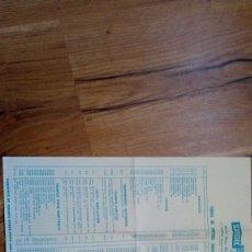 Scalextric: TARIFAS VENTA AL PÚBLICO 30 FEBRERO 1971 SCALEXTRIC EXIN. Lote 109143823