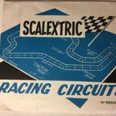 Scalextric: SCALEXTRIC AÑOS 70 DE EXIN RACING CIRCUITS. Lote 109152991