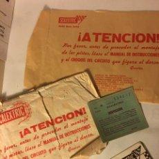 Scalextric: SCALEXTRIC AÑOS 70 DE EXIN VARIOS. Lote 109154575