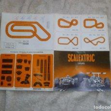 Scalextric: SCALEXTRIC GUIA DE CIRCUITOS. ¿AÑOS 70?. Lote 110258087