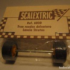 Scalextric: EJE I EJES I RUEDAS I TREN DE RUEDAS DELANTERO LANCIA STRATOS SCALEXTRIC EXIN. Lote 110843115