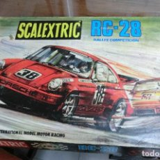 Scalextric: JUEGO DE SCALEXTRIC MODELO RC28 . Lote 113915543