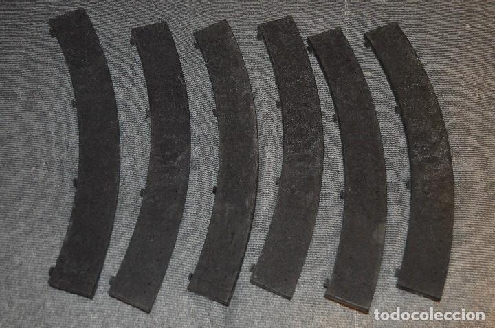 Scalextric: LOTE CUENTAVUELTAS, 2 LÍNEAS DE MANTENIMIENTO Y 6 BORDES / PIANOS - EXIN - SPAIN - SCALEXTRIC - Foto 10 - 114587419