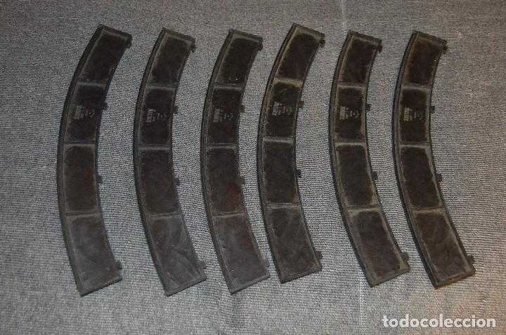Scalextric: LOTE CUENTAVUELTAS, 2 LÍNEAS DE MANTENIMIENTO Y 6 BORDES / PIANOS - EXIN - SPAIN - SCALEXTRIC - Foto 11 - 114587419