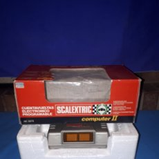 Scalextric: SCALEXTRIC COMPUTER II CUENTAVUELTAS ELECTRÓNICO PROGRAMABLE REF 3275. Lote 114709131