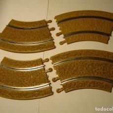 Scalextric: OFF ROAD LOTE CURVAS ESTANDAR SCALEXTRIC USADAS. Lote 224941013