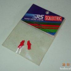 Scalextric: ANTIGUA BOLSA SIN ABRIR REF. 7305 PAR DE GUIAS SRS DE SCALEXTRIC EXIN. Lote 116649279