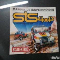 Scalextric: MANUAL DE INSTRUCCIONES Y MANTENIMIENTO DE STS 4X4 DE SCALEXTRIC. EXIN. ATLAS 2008. Lote 116852959