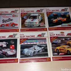 Scalextric: LOTE GUÍA SLOT RACING. Lote 116878679