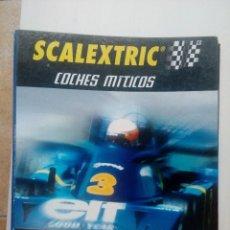 Scalextric: ARCHIVADOR FICHAS COCHE MÍTICOS SCALEXTRIC, ALTAYA 2001. Lote 117436187