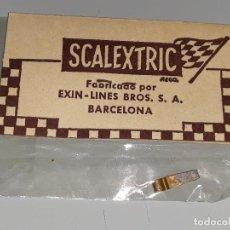 Scalextric: SCALEXTRIC EXIN - ANTIGUO BLISTER REF. 5158 - REPUESTO ACCESORIO - ESCOBILLA DE MOTOR AÑOS 70. Lote 117550047