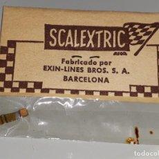 Scalextric: SCALEXTRIC EXIN - ANTIGUO BLISTER REF. 5158 - REPUESTO ACCESORIO - ESCOBILLA DE MOTOR AÑOS 70. Lote 117550279