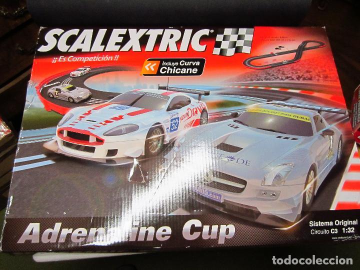 CAJA VACIA CIRCUITO ADRENALINE CUP SCALEXTRIC (Juguetes - Slot Cars - Scalextric Pistas y Accesorios)