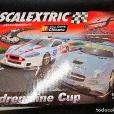 Scalextric: CAJA VACIA CIRCUITO ADRENALINE CUP SCALEXTRIC. Lote 117779679