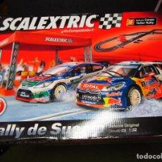 Scalextric: CAJA VACIA CIRCUITO RALLY DE SUECIA SCALEXTRIC. Lote 117779835