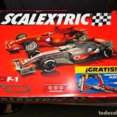 Scalextric: CAJA VACIA CIRCUITO C-3 F1 SCALEXTRIC. Lote 117780175