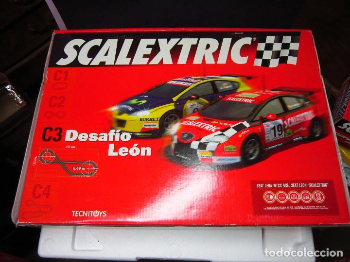 CAJA VACIA CIRCUITO DESAFIO LEON SCALEXTRIC (Juguetes - Slot Cars - Scalextric Pistas y Accesorios)