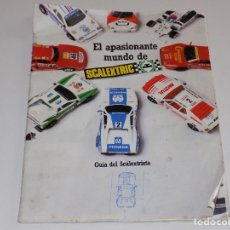 Scalextric: - SCALEXTRIC - GUIA DEL SCALEXTRISTA - AÑO 1.987. Lote 117919375