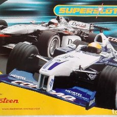 Scalextric: SUPERSLOT CATÁLOGO 2002. Lote 118816571