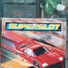 Scalextric: SUPERSLOT CATÁLOGO PRIMERA EDICIÓN. Lote 118816943