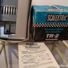 Scalextric: TRANSFORMADOR TR2 EXIN CON CAJA Y MANUAL. Lote 119344631