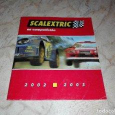 Scalextric: SCALEXTRIC ACCESORIOS MANUAL CATALOGO. Lote 120727051
