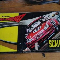 Scalextric: ANTIGUA CAJA DE SCALEXTRIC EXIN CURVA SUPER RACING . Lote 120908871