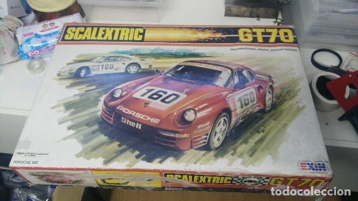 CAJA SCALEXTRIC EXIN MODELO GT 70 (Juguetes - Slot Cars - Scalextric Pistas y Accesorios)