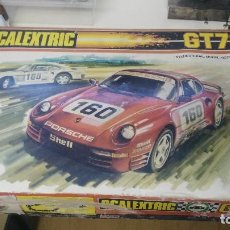 Scalextric: CAJA SCALEXTRIC EXIN MODELO GT 70. Lote 121332155
