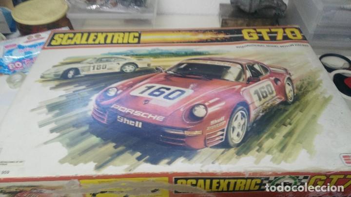 Scalextric: CAJA SCALEXTRIC EXIN MODELO GT 70 - Foto 3 - 121332155