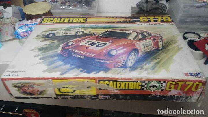 Scalextric: CAJA SCALEXTRIC EXIN MODELO GT 70 - Foto 4 - 121332155