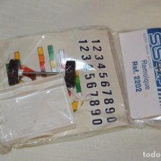 Scalextric: VINTAGE - BLISTER PRECINTADO NOS - REMOLQUE STS 4X4 SCALEXTRIC - REF. 2202 - BLANCO - MADE IN SPAIN. Lote 121726019