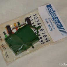 Scalextric: VINTAGE - BLISTER PRECINTADO NOS - REMOLQUE STS 4X4 SCALEXTRIC - REF. 2202 - VERDE - MADE IN SPAIN. Lote 121726067