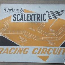 Scalextric: INSTRUCCIONES SCALEXTRIC RACING CIRCUITS AMPLIACIONES CIRCUITOS. Lote 121982122